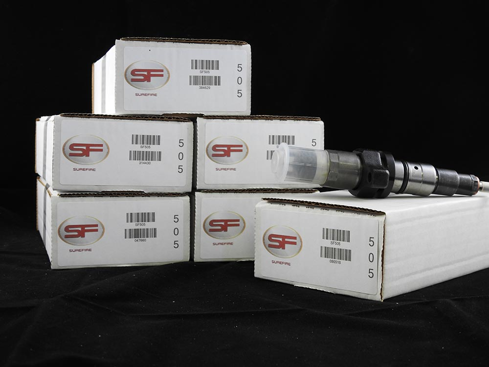 Surefire High Performance Injector Set For 2004.5 – 2007 Dodge 5.9L Cummins Diesel. Provides 120+ Horsepower Performance Improvement.